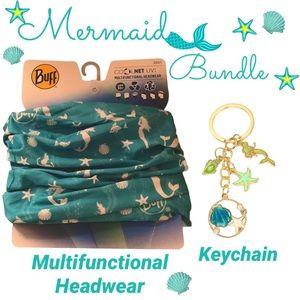 Mermaid bundle MULTIFUNCTIONAL HEADWEAR & Keychain
